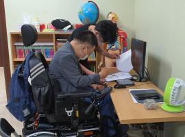 장애인일자리 신규직무개발사업 사이버온라인모니터링 9월
